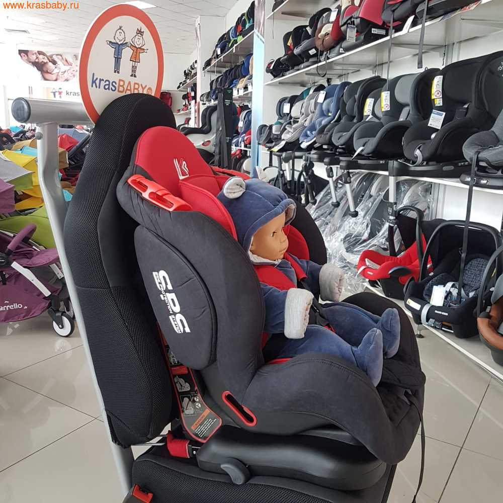 Автокресло LiTTLE KiNG BQ02 ISOFIX (9-25кг) (фото, вид 6)