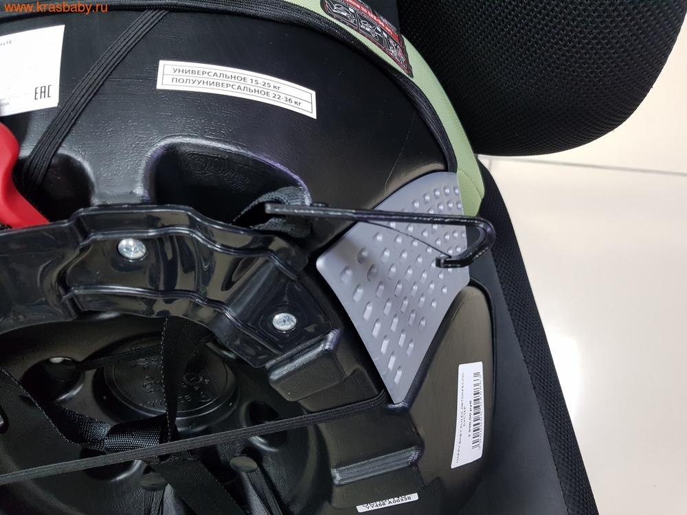 Автокресло-бустер HAPPY BABY RULEX (15-36 кг) (фото, вид 6)