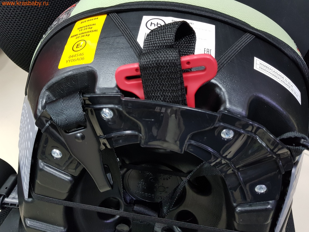 Автокресло-бустер HAPPY BABY RULEX (15-36 кг) (фото, вид 7)