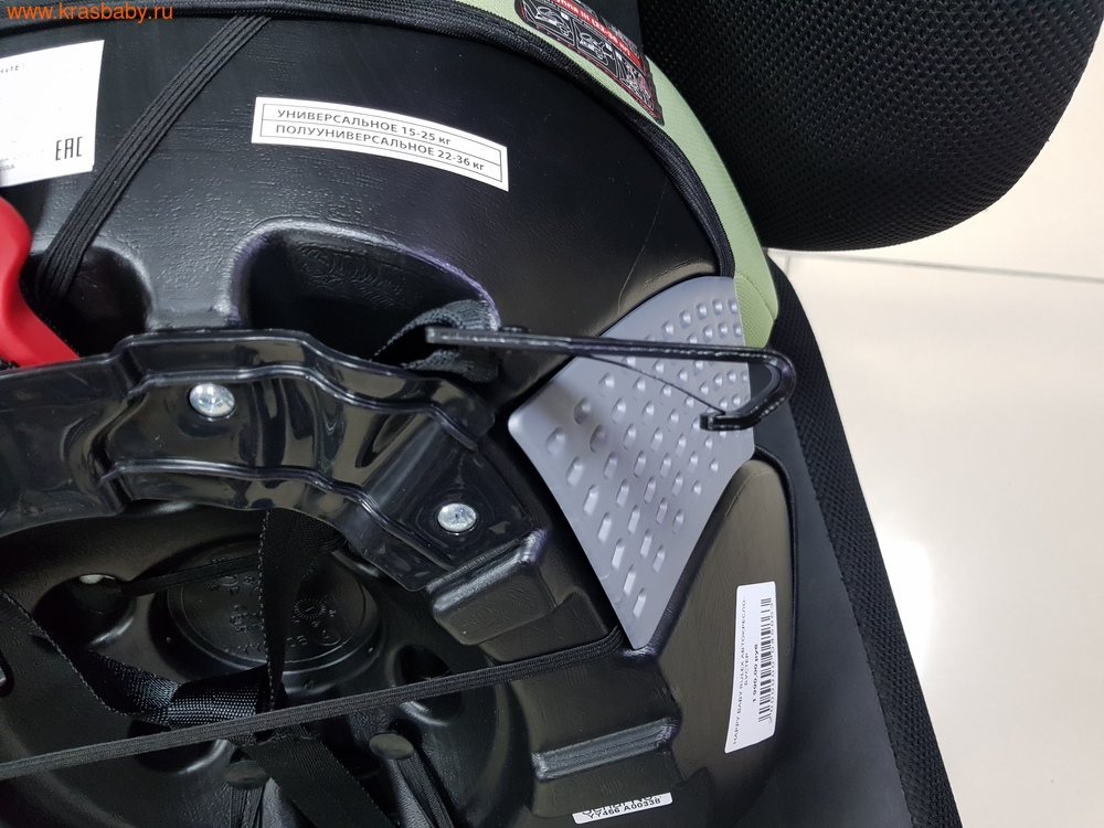 Автокресло-бустер HAPPY BABY RULEX (15-36 кг) (фото, вид 8)