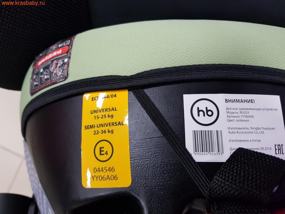 Автокресло-бустер HAPPY BABY RULEX (15-36 кг) (фото, вид 9)