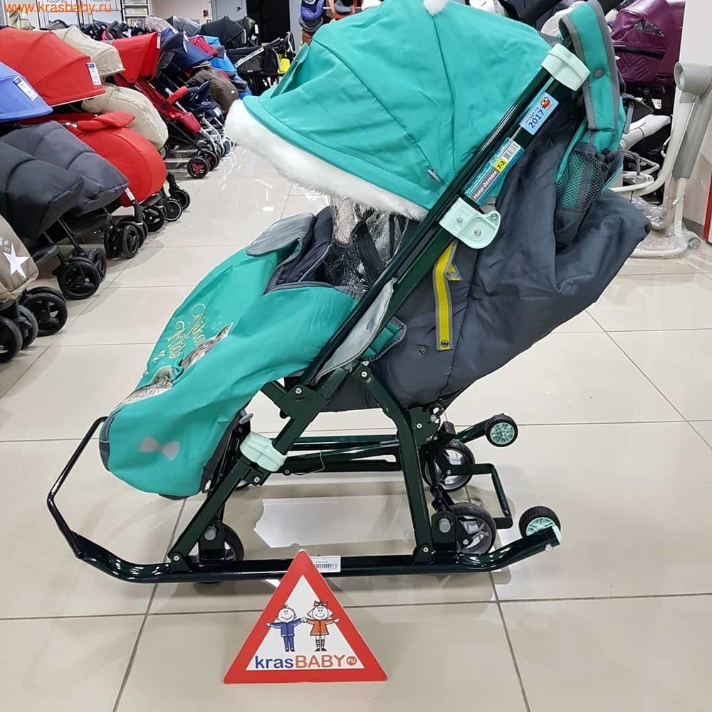 Nika Kids Cанки-коляска ДЕТЯМ 7-2 (фото, вид 3)
