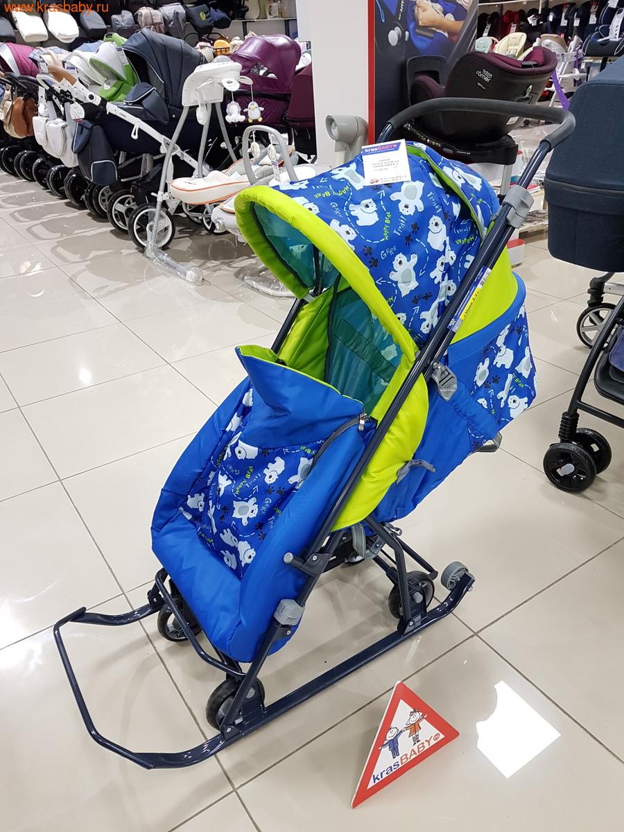 Nika Kids Санки -коляска УМКА 3 (фото, вид 2)