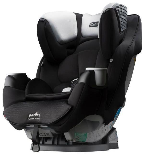 Автокресло EVENFLO SafeMax™ Platinum Series™ (2,2 -54,4 кг) с ISOFIX (фото, цвет Brown Red )