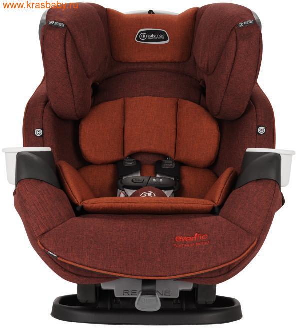Автокресло EVENFLO SafeMax™ Platinum Series™ (2,2 -54,4 кг) с ISOFIX (фото, цвет Brown Red)