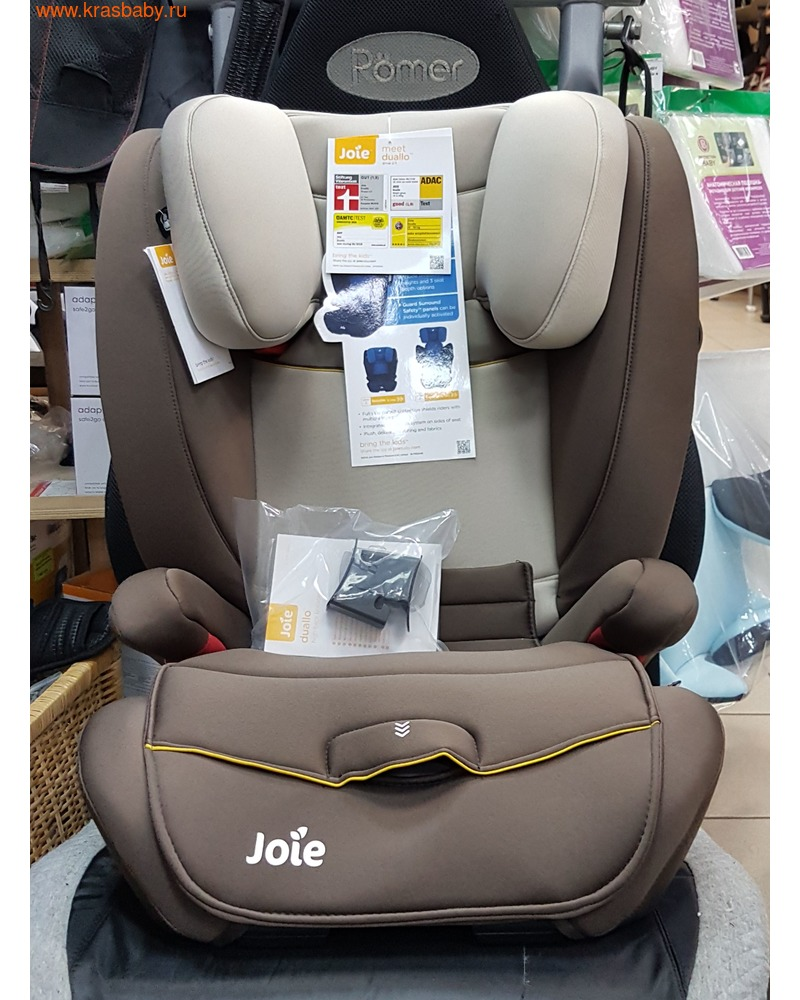 Автокресло JOIE DUALLO (15-36 кг) ISOFIX (фото, вид 7)