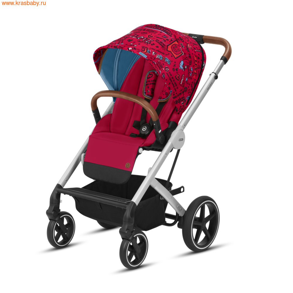 Коляска модульная CYBEX BALIOS S (FASHION COLLECTION) 2 в 1 (фото, цвет-Love)