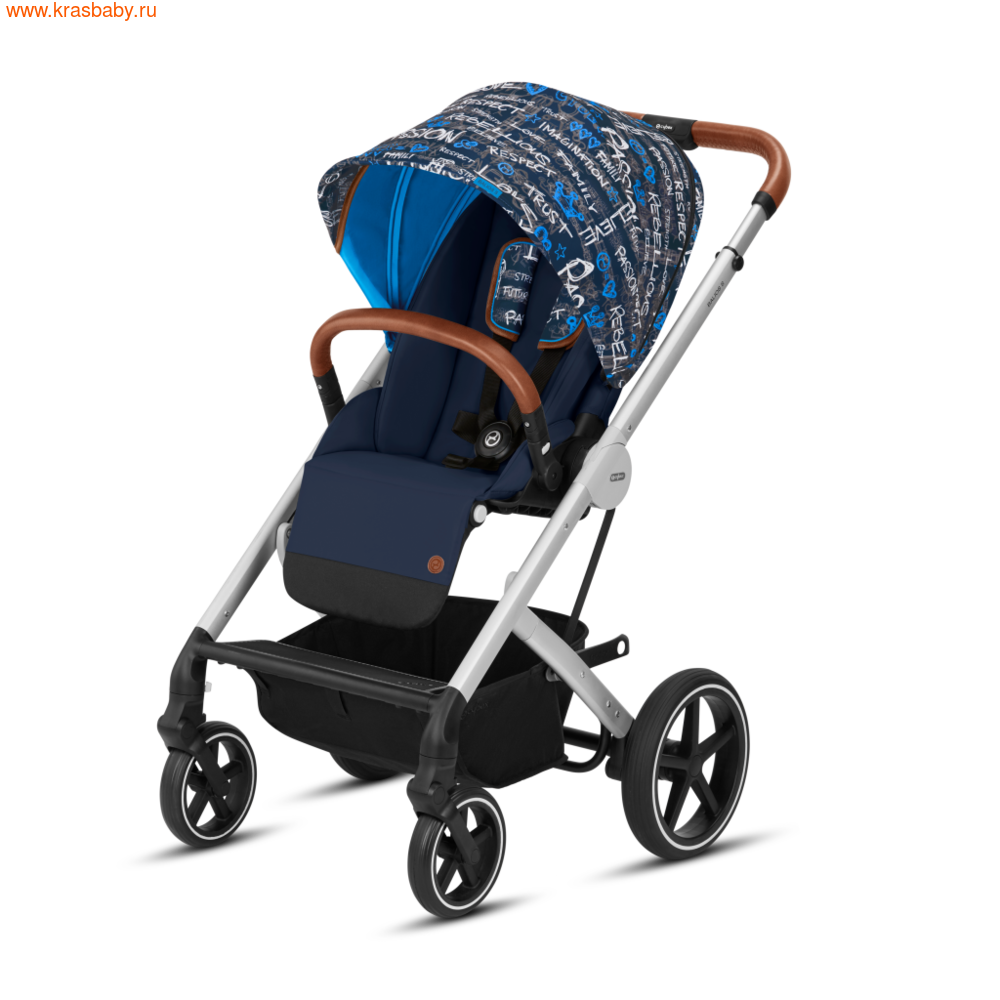Коляска модульная CYBEX BALIOS S (FASHION COLLECTION) 2 в 1 (фото, цвет-Trust)