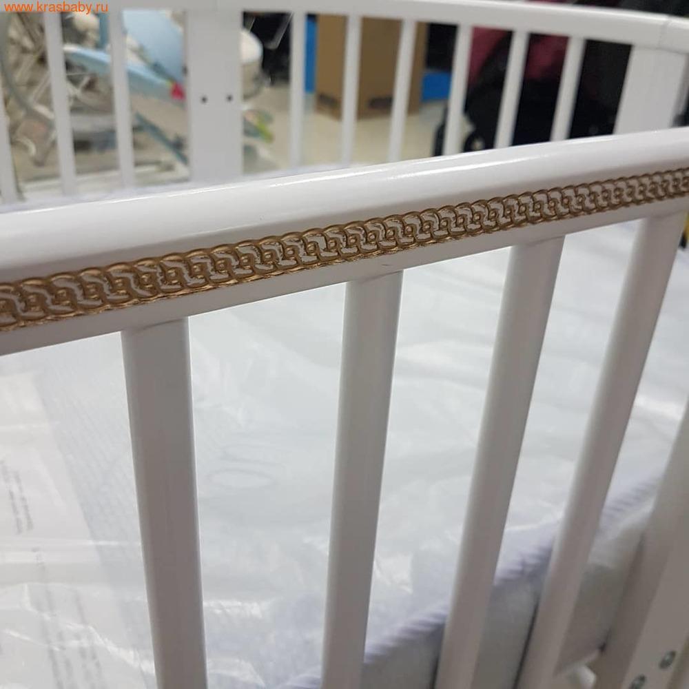 Кровать-трансформер GANDYLYAN Бэтти (круглая) (фото, вид 15)