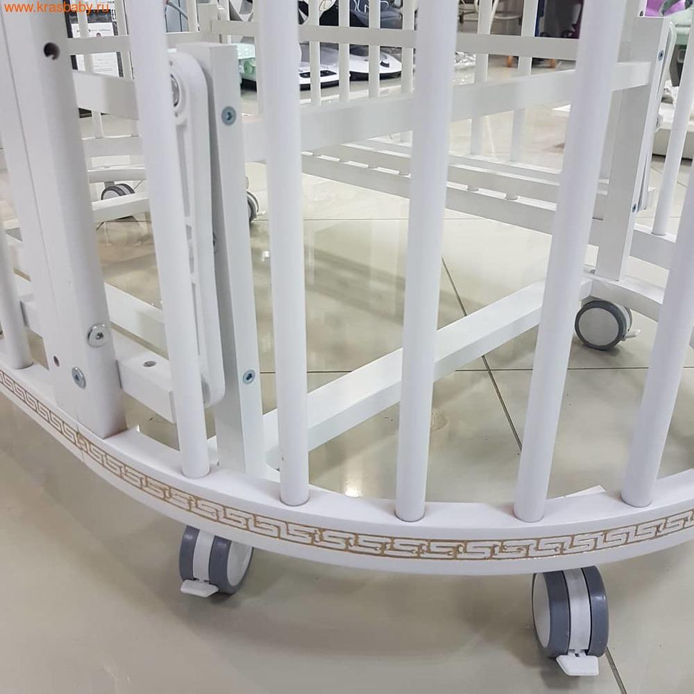 Кровать-трансформер GANDYLYAN Бэтти (круглая) (фото, вид 18)