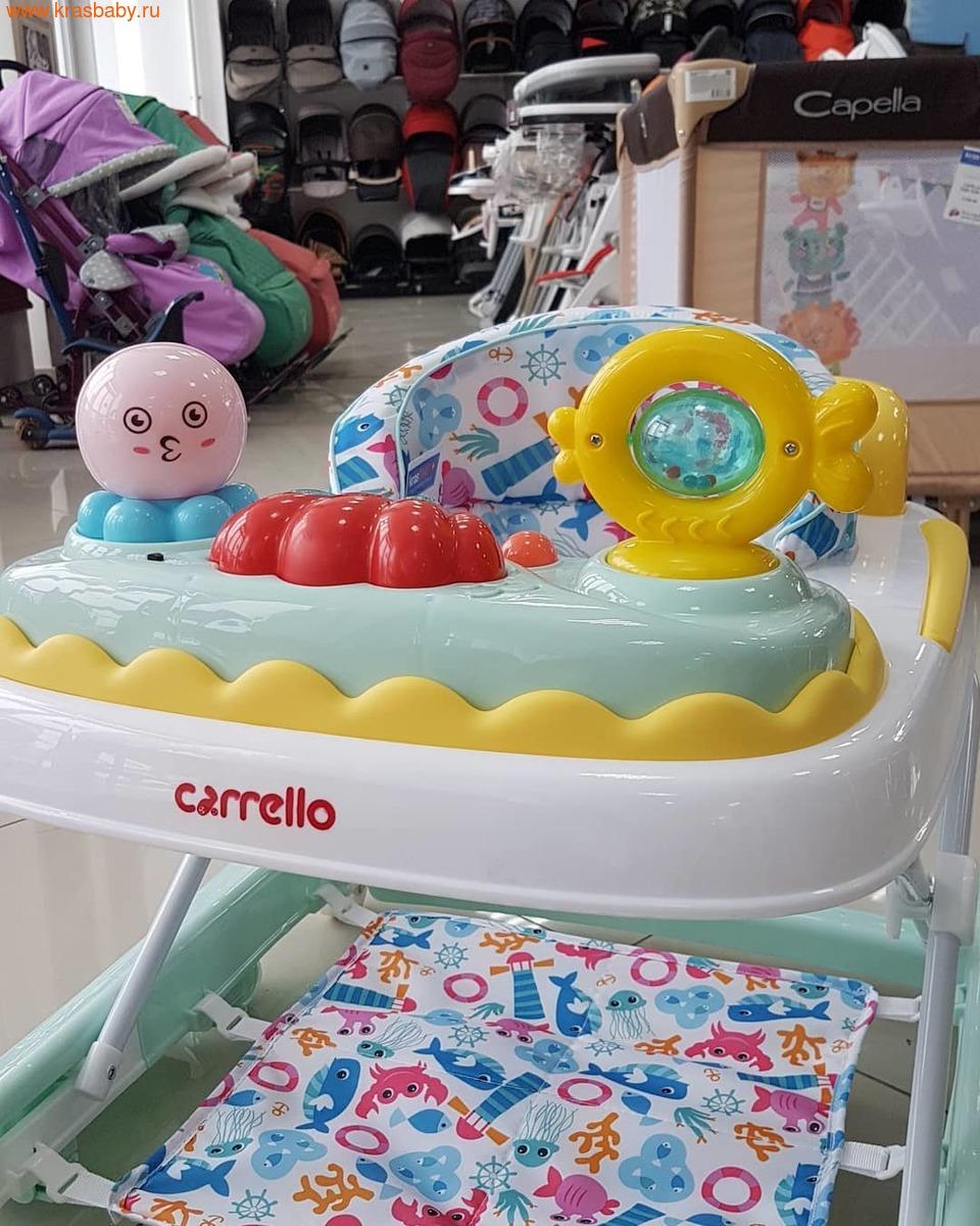Ходунки детские CARRELLO OCEANO 3 в 1 (фото, вид 1)