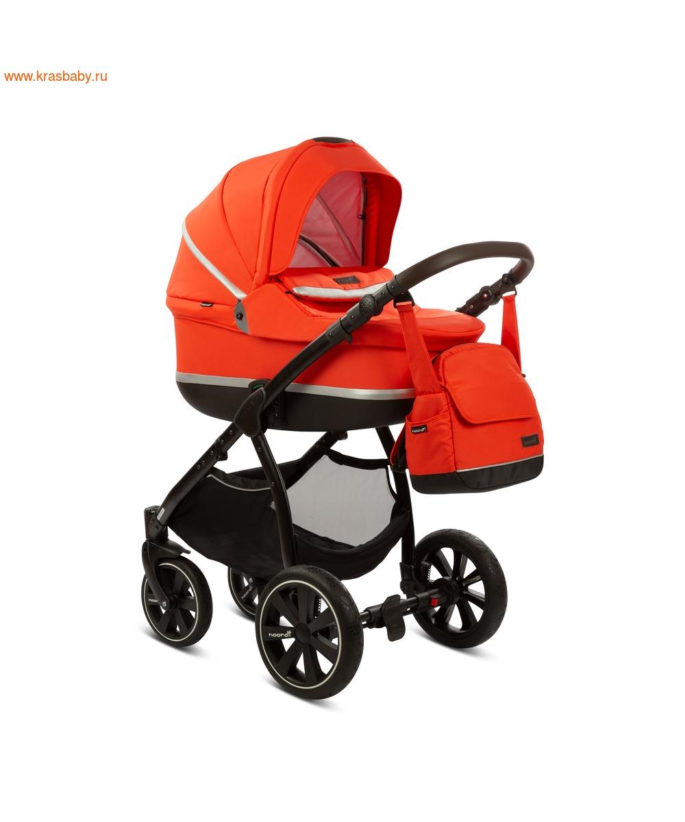 Коляска модульная NOORDI Sole Sport NEW Orange Red (фото, вид 2)