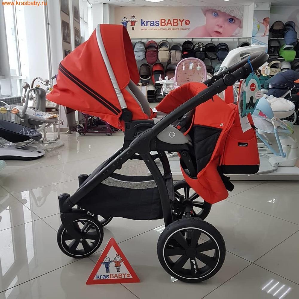 Коляска модульная NOORDI Sole Sport NEW Orange Red (фото, вид 10)