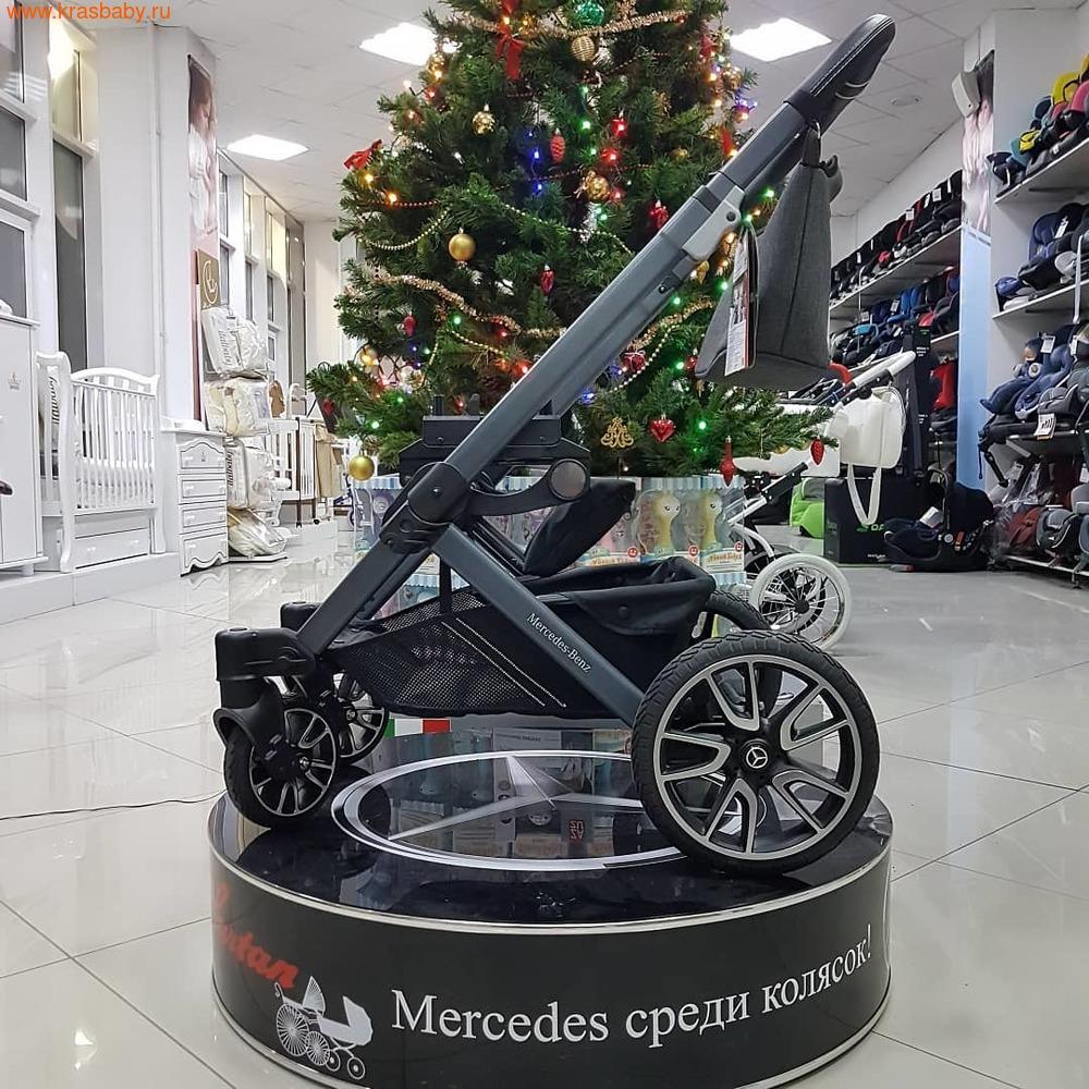 Коляска модульная HARTAN Avantgarde Mercedes-Benz Collection Deep Sea (фото, вид 5)
