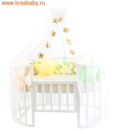 Комплект постельного белья ЗОЛОТОЙ ГУСЬ Сластёна, 6 предметов (фото, Зеленый, 8074)