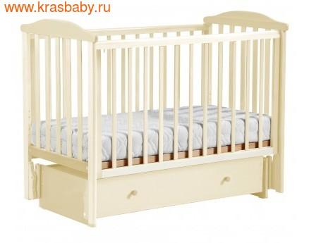 Кроватка Лель АБ 15 Лютик (фото, вид 3)