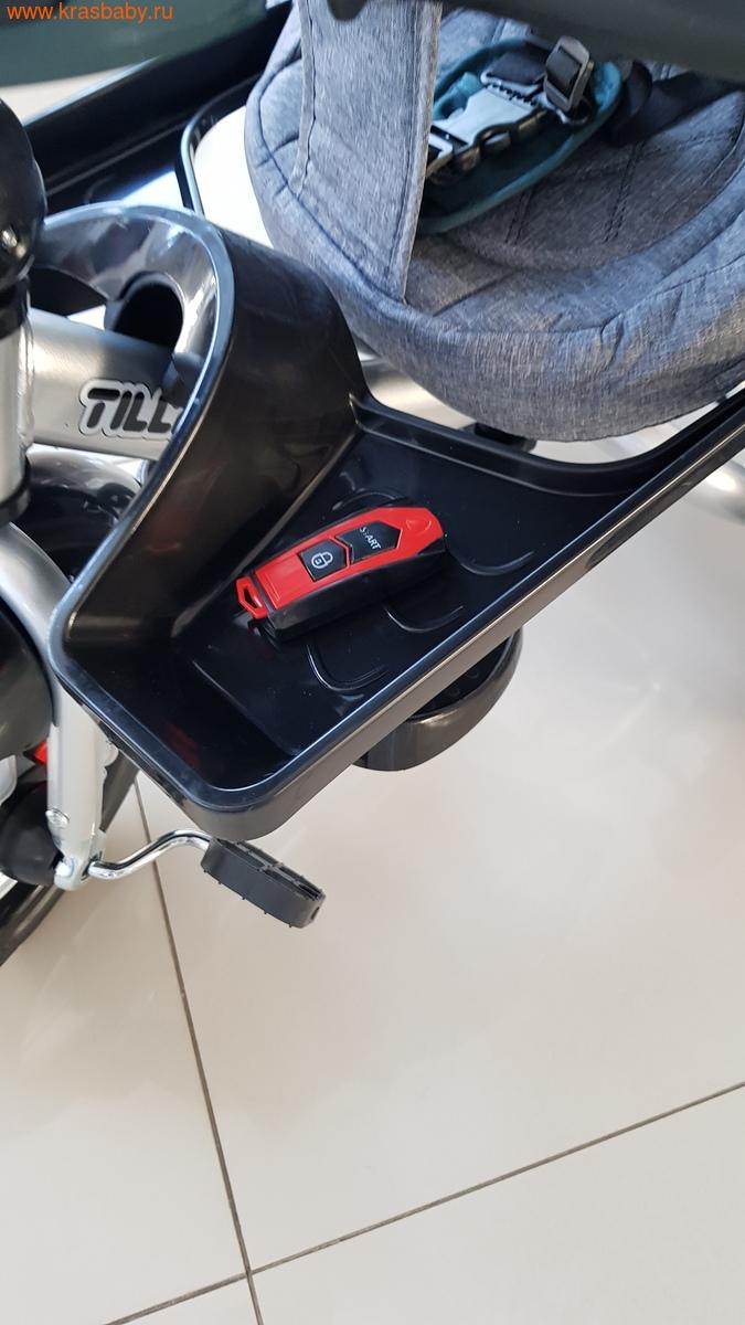 Велосипед Baby Tilly трехколесный CAYMAN T-381 с поворотным сидением и наклоном спинки (фото, вид 3)