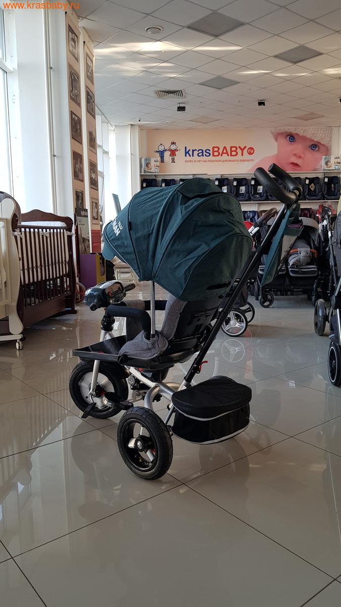 Велосипед Baby Tilly трехколесный CAYMAN T-381 с поворотным сидением и наклоном спинки (фото, вид 5)