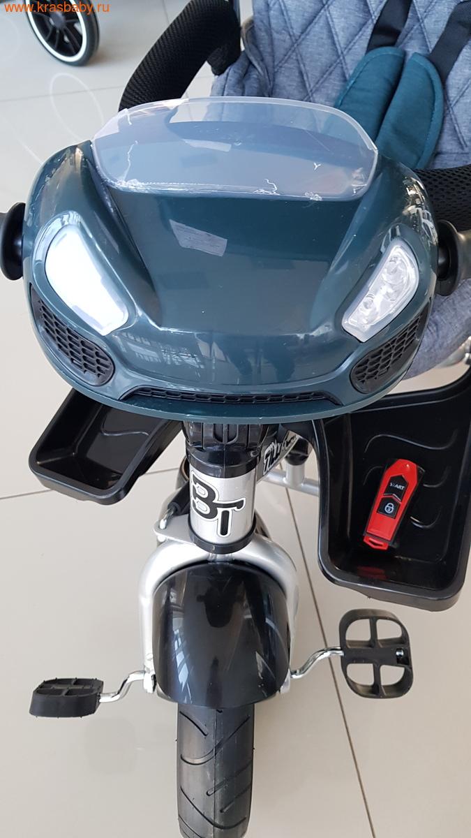 Велосипед Baby Tilly трехколесный CAYMAN T-381 с поворотным сидением и наклоном спинки (фото, вид 6)