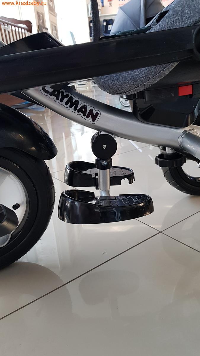 Велосипед Baby Tilly трехколесный CAYMAN T-381 с поворотным сидением и наклоном спинки (фото, вид 7)