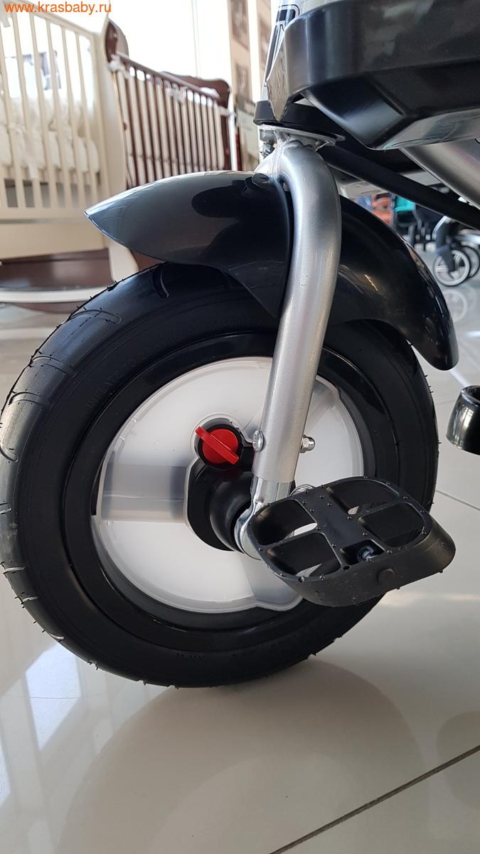 Велосипед Baby Tilly трехколесный CAYMAN T-381 с поворотным сидением и наклоном спинки (фото, вид 8)
