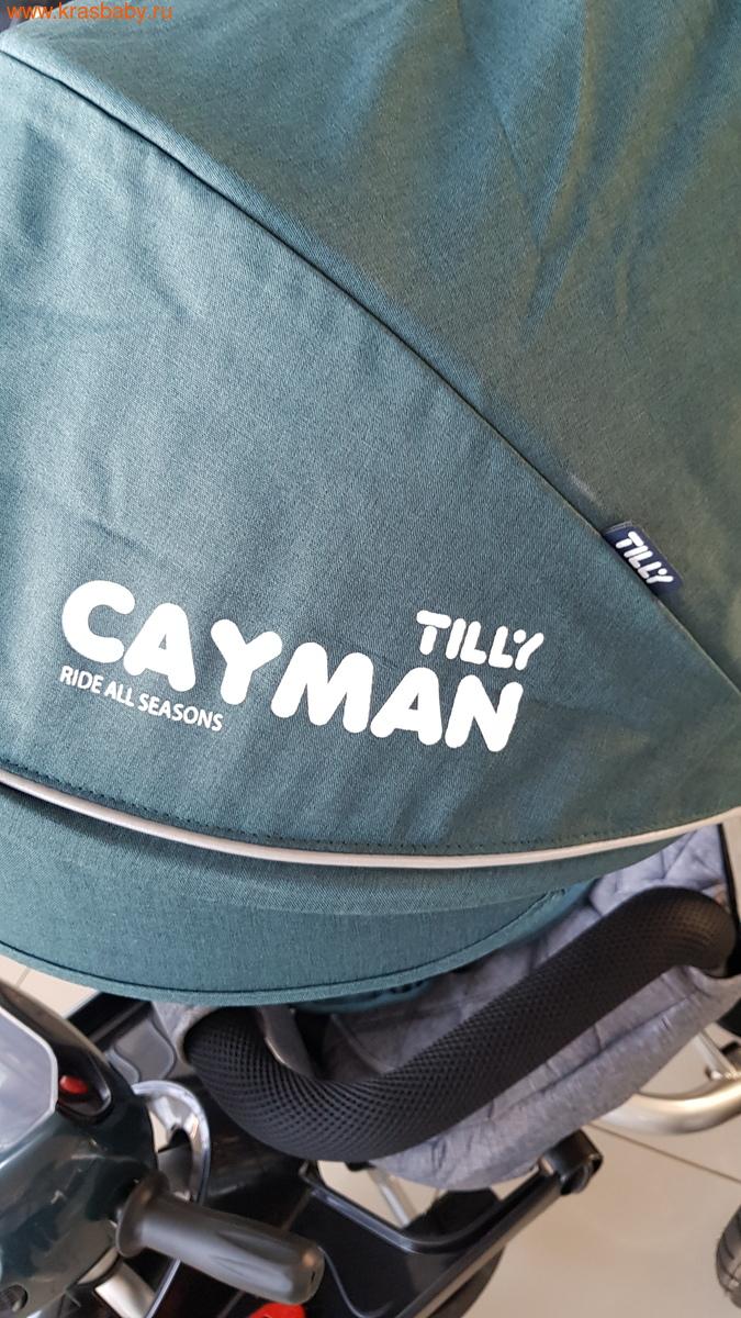Велосипед Baby Tilly трехколесный CAYMAN T-381 с поворотным сидением и наклоном спинки (фото, вид 10)