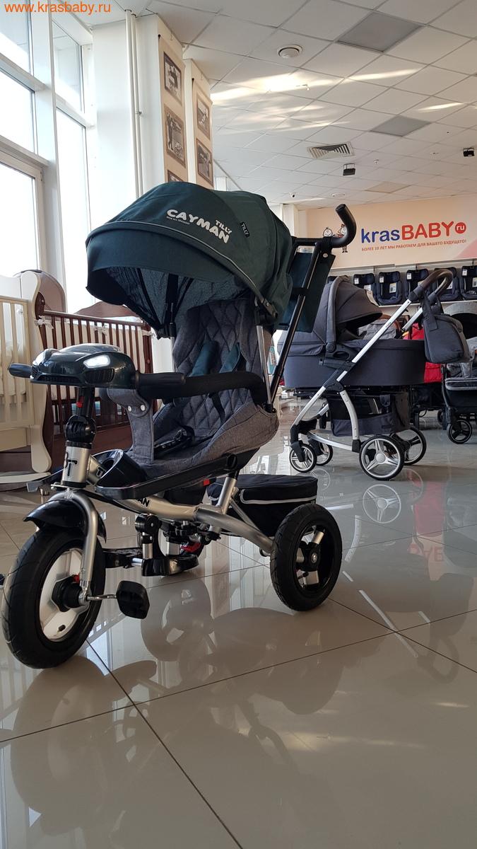 Велосипед Baby Tilly трехколесный CAYMAN T-381 с поворотным сидением и наклоном спинки (фото, вид 12)