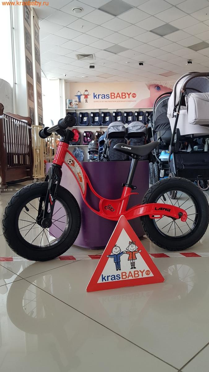 Беговел LANQ Magnesium двухколесный колеса надувные (фото, вид 1)