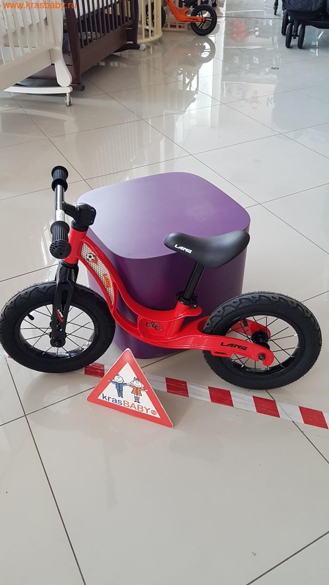 Беговел LANQ Magnesium двухколесный колеса надувные (фото, вид 4)