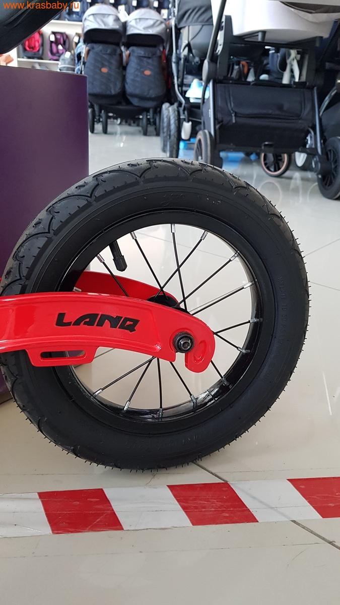 Беговел LANQ Magnesium двухколесный колеса надувные (фото, вид 5)