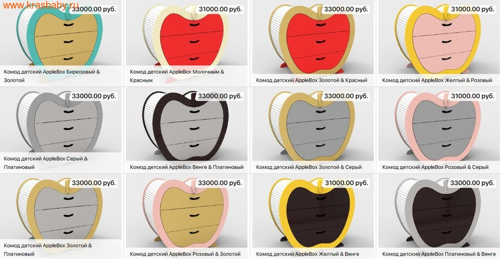 Комод бельевой SOOHOOKIDS AppleBox (фото, вид 11)
