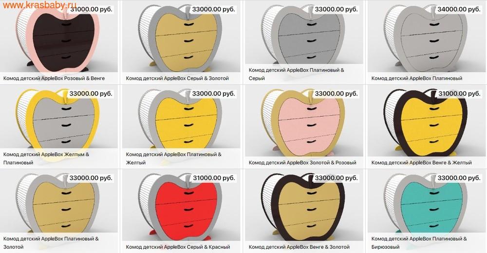 Комод бельевой SOOHOOKIDS AppleBox (фото, вид 12)
