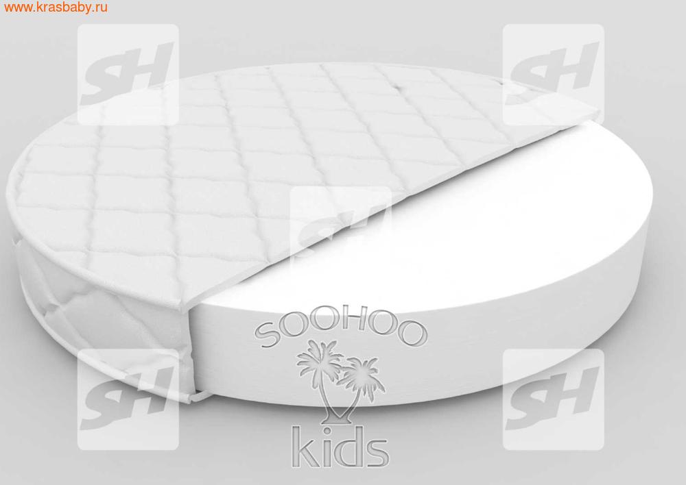 Матрас детский SOOHOOKIDS в колыбель Холкон 8см на Surf 8 в 1 (фото, вид 1)