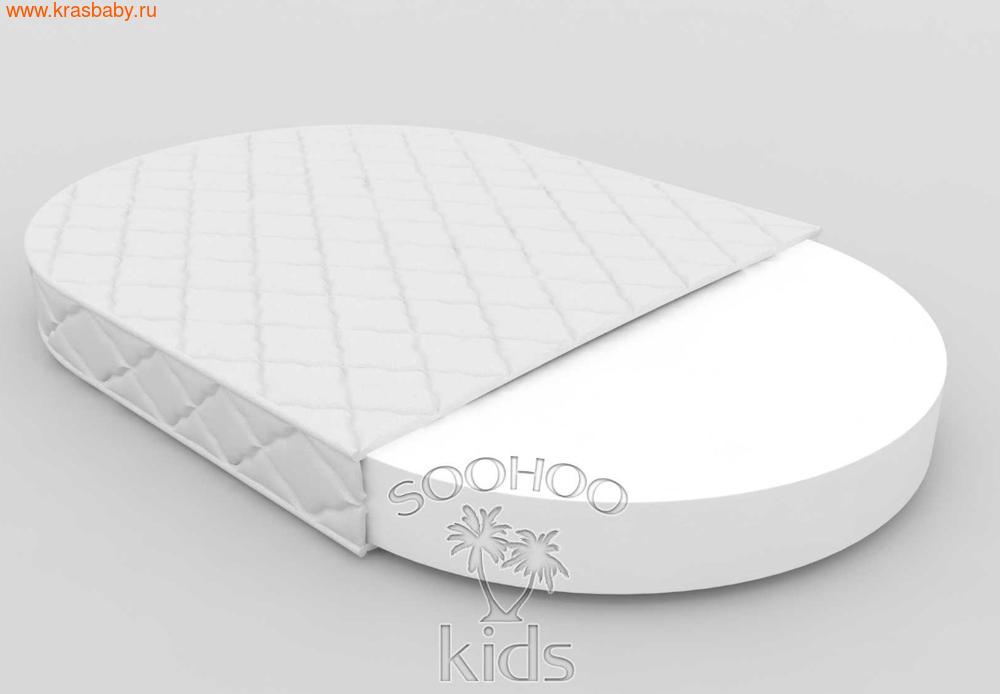 Матрас детский SOOHOOKIDS в колыбель Холкон 8см на Surf 8 в 1 (фото, вид 3)