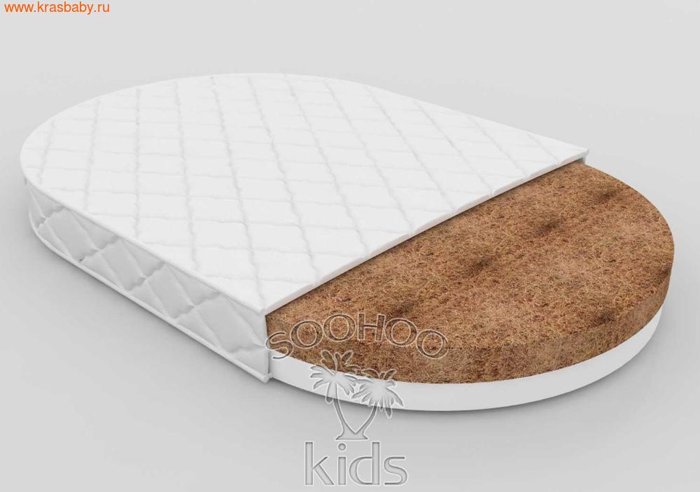 Матрас детский SOOHOOKIDS в колыбель Кокос Холкон 9см на Surf 8 в 1 (фото, вид 1)