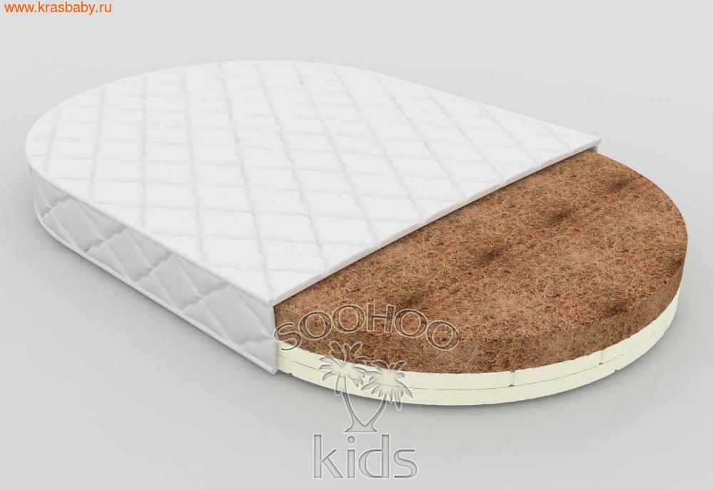 Матрас детский SOOHOOKIDS в колыбель Кокос Латекс на Surf 8 в 1 (фото, вид 1)