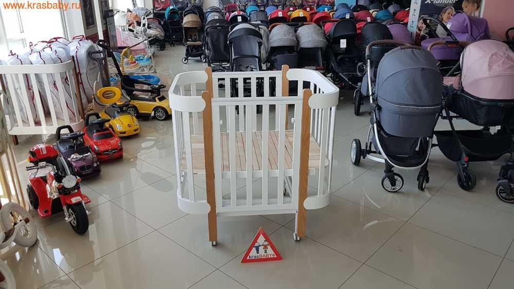 Кровать-трансформер HAPPY BABY MOMMY LUX (фото, вид 17)