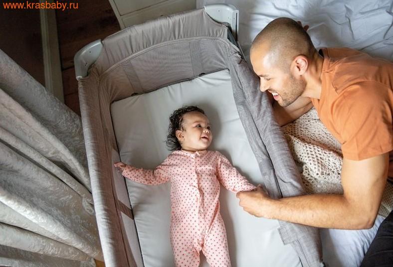 Манеж-кровать JOIE KUBBIE SLEEP ДЛЯ ДЕТЕЙ ОТ РОЖДЕНИЯ (фото, вид 3)