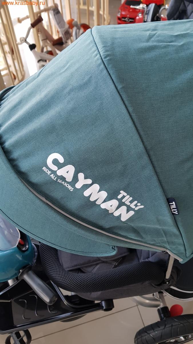 Велосипед Baby Tilly трехколесный CAYMAN T-381 с поворотным сидением и наклоном спинки (фото, вид 13)