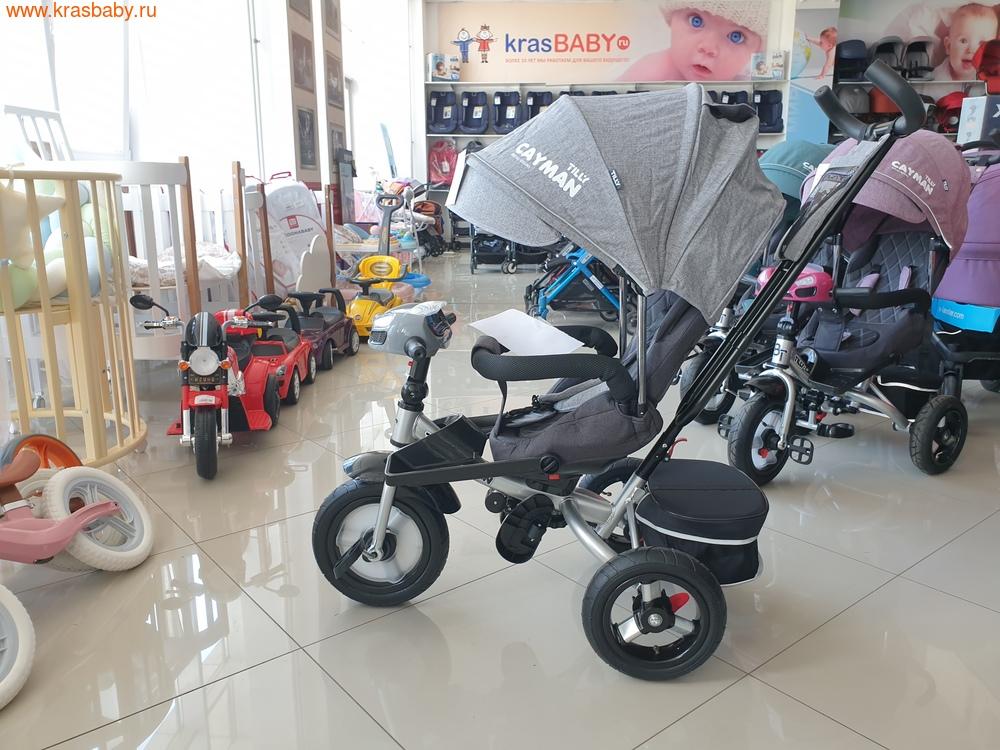 Велосипед Baby Tilly трехколесный CAYMAN T-381 с поворотным сидением и наклоном спинки (фото, вид 20)
