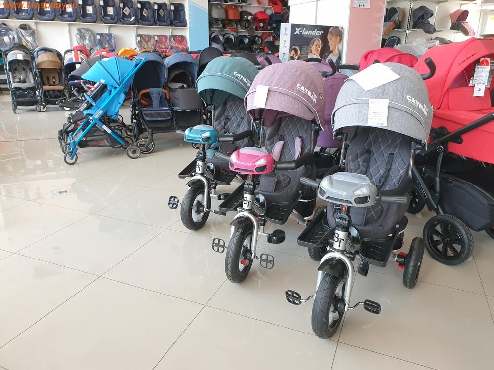 Велосипед Baby Tilly трехколесный CAYMAN T-381 с поворотным сидением и наклоном спинки (фото, вид 21)