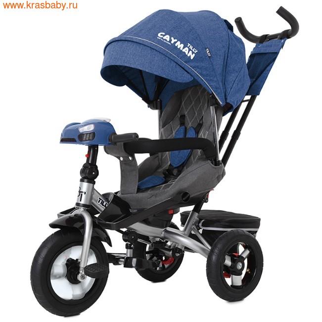 Велосипед Baby Tilly трехколесный CAYMAN T-381 с поворотным сидением и наклоном спинки (фото, вид 22)