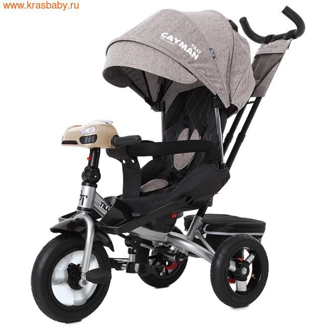 Велосипед Baby Tilly трехколесный CAYMAN T-381 с поворотным сидением и наклоном спинки (фото, вид 24)