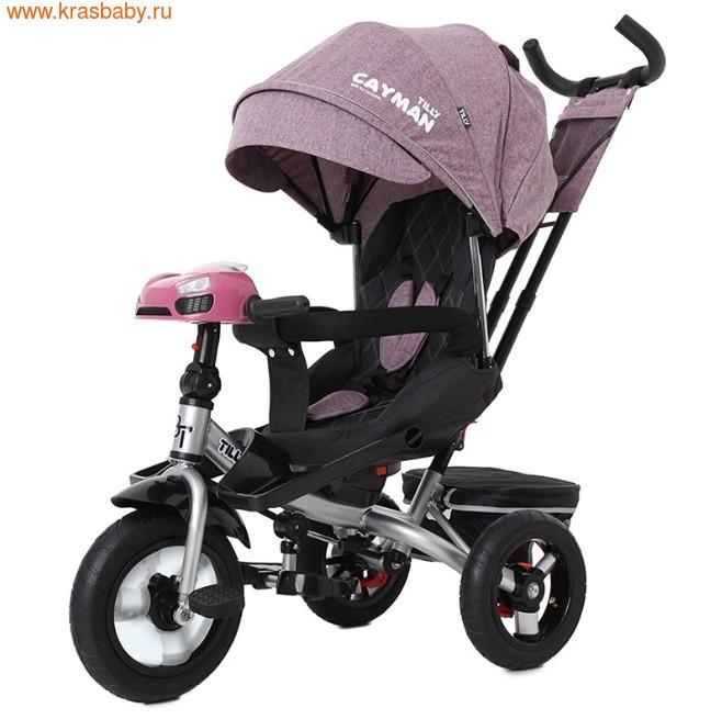Велосипед Baby Tilly трехколесный CAYMAN T-381 с поворотным сидением и наклоном спинки (фото, вид 26)