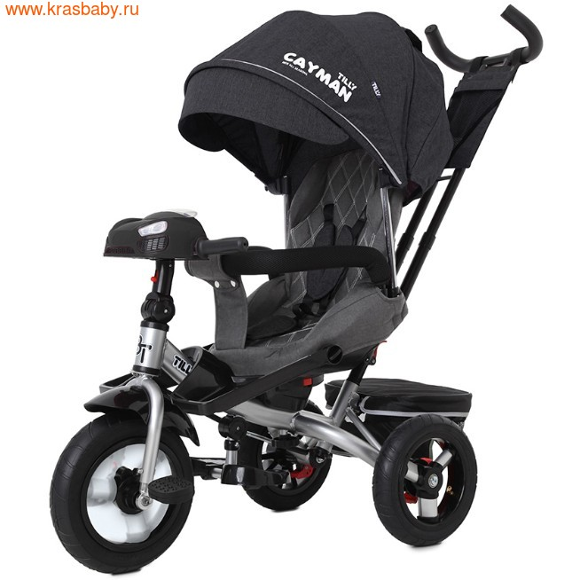 Велосипед Baby Tilly трехколесный CAYMAN T-381 с поворотным сидением и наклоном спинки (фото, вид 27)