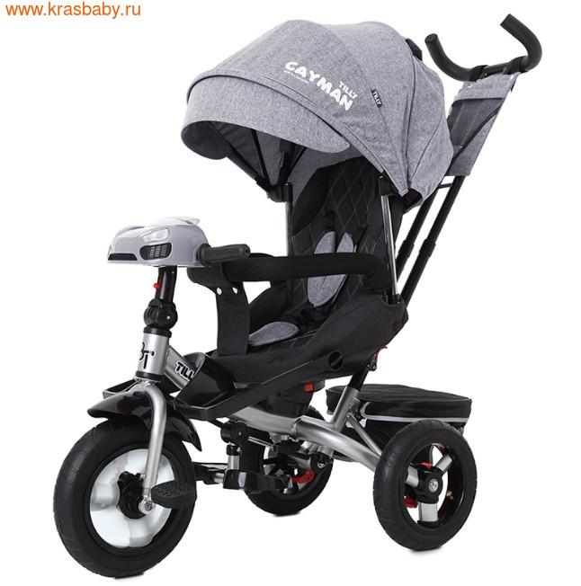 Велосипед Baby Tilly трехколесный CAYMAN T-381 с поворотным сидением и наклоном спинки (фото, вид 29)