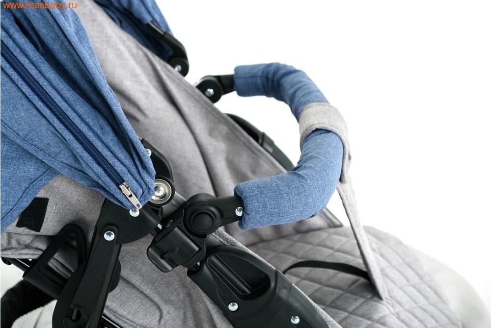 Коляска прогулочная GLAMVERS Bruno с накидкой на ножки (фото, вид 4)