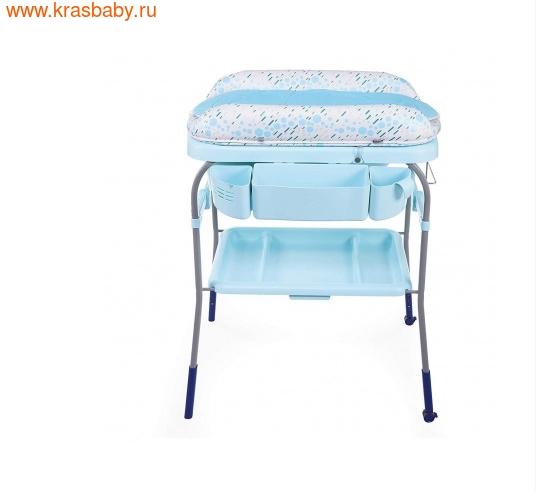 Пеленальный столик CHICCO с ванночкой Cuddle & Bubble Comfort {Ocean} (фото, вид 1)