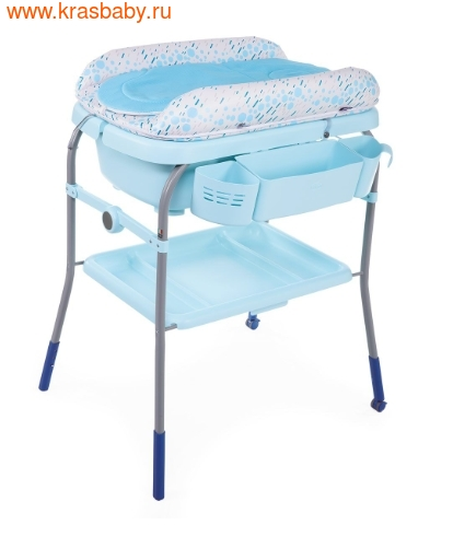 Пеленальный столик CHICCO с ванночкой Cuddle & Bubble Comfort {Ocean} (фото, вид 6)