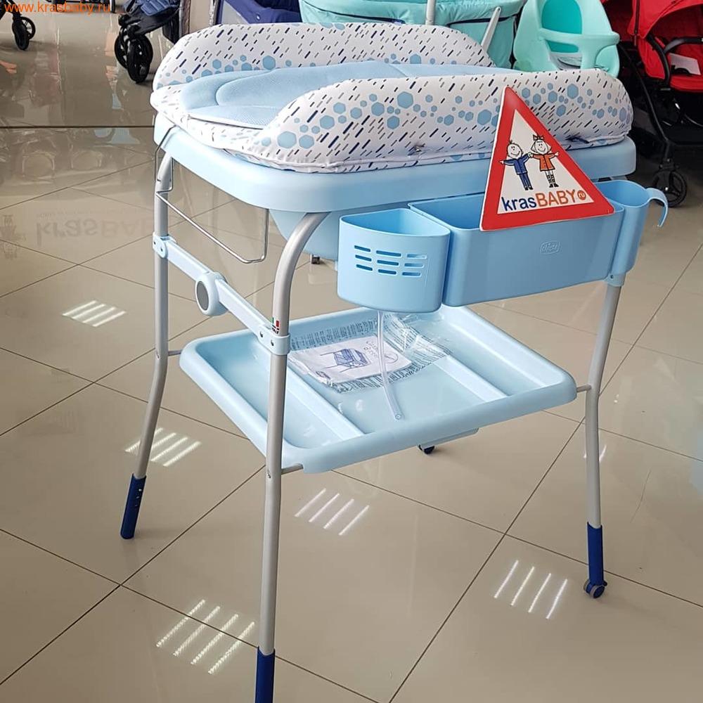 Пеленальный столик CHICCO с ванночкой Cuddle & Bubble Comfort {Ocean} (фото, вид 3)